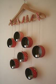 لاترمي التونه تعالي انظري واصنعي porta-velas-de-latas