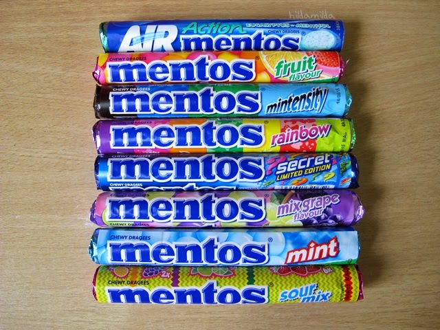 Mentos Rainbow Roll Mentos Roll is The Classic And
