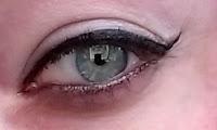 Cover Girl Intensify me! eyeliner Super Sizer mascara coat tutorial review