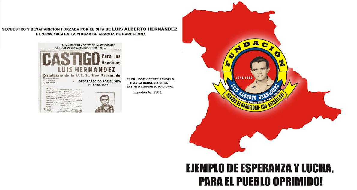 DESAPARECIDO POLÍTICO DE LA IV REPÚBLICA