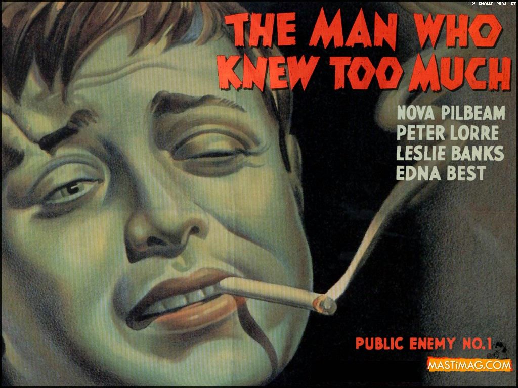 THE MAN WHO KNEW TOO MUCH (1934). | Cinema/Movie Stuff ...
