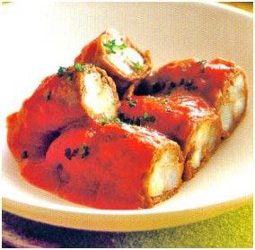 Resep dan Cara Membuat Daging Gulung Saus Tomat