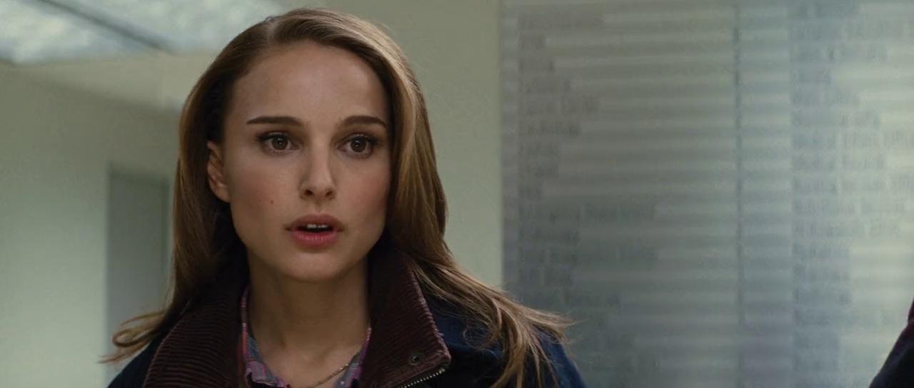 Natalie Portman Thor Movie Stills