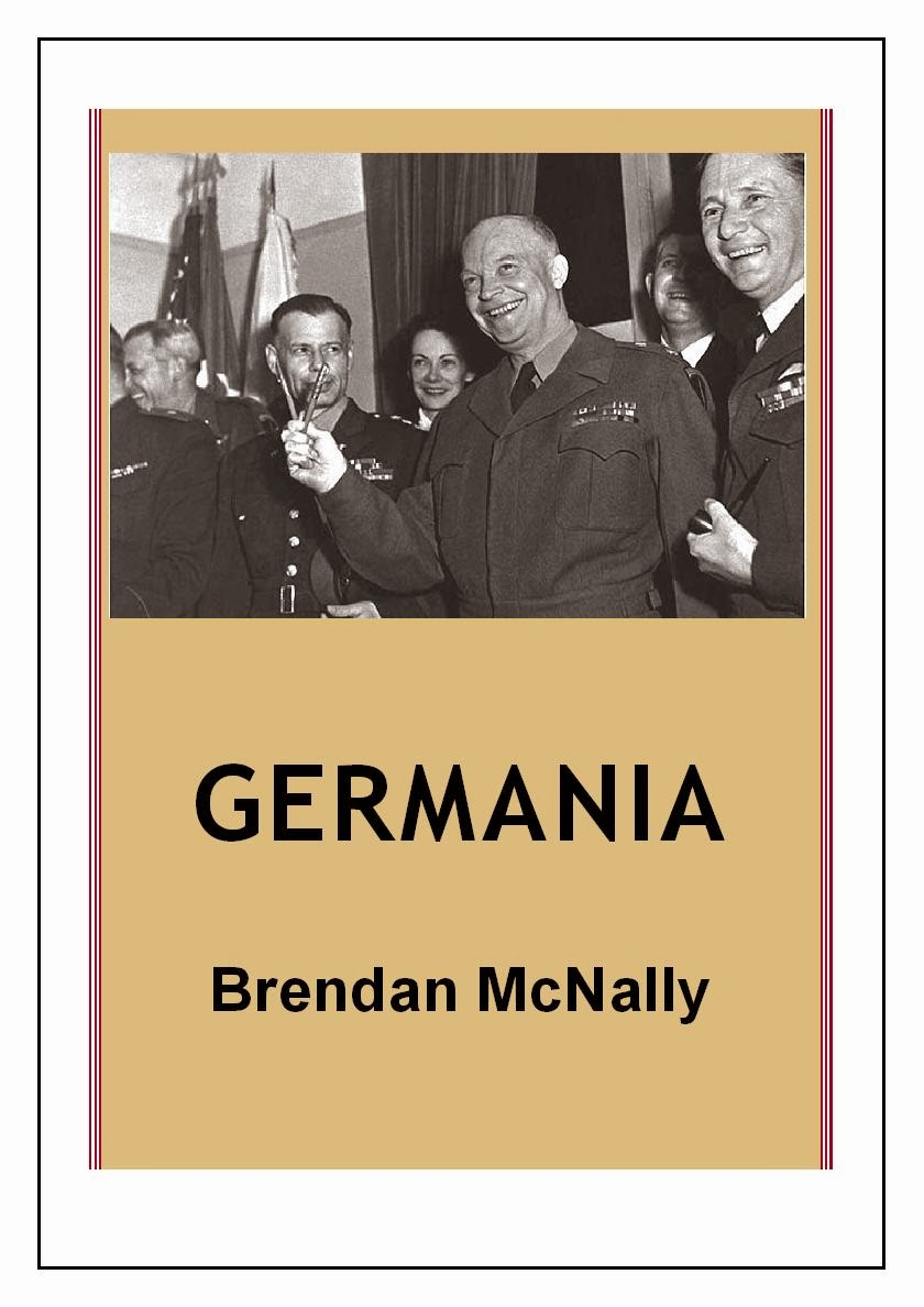 http://www.amazon.co.uk/Germania-Brendan-McNally-ebook/dp/B00BROR8RQ/ref=sr_1_1_bnp_1_kin?ie=UTF8&qid=1391373983&sr=8-1&keywords=germania+brendan+mcnally
