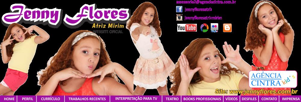 Jenny Flores - Atriz Mirim