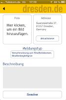 Ansicht Dreck-Weg-App