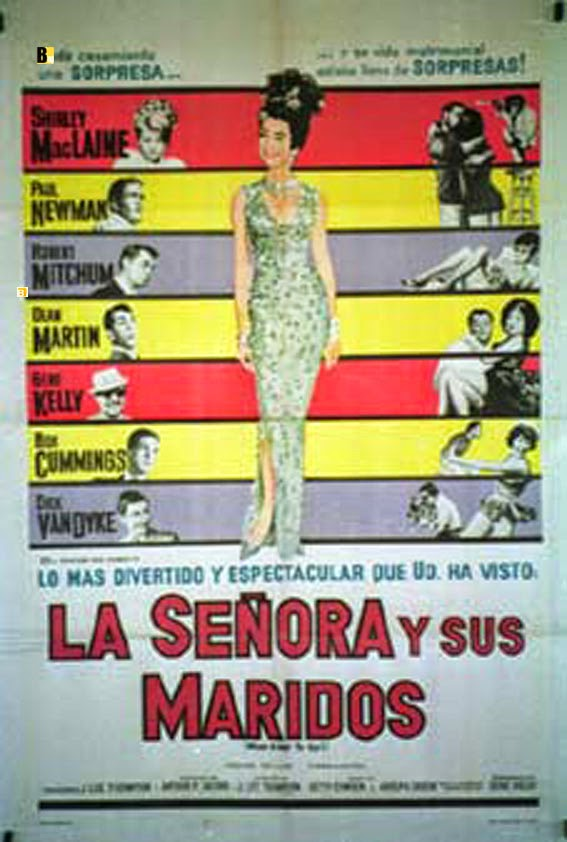 Argentina film poster for What A Way To Go