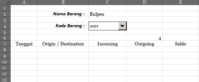 Excel Potion: Kartu Stock Digital