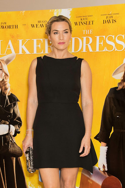 Actress, Singer @ Kate Winslet - Screening of The Dressmaker in London