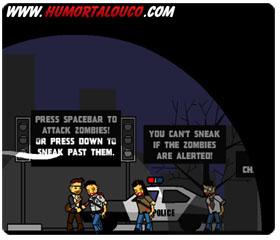 Game da semana [18] - Jogar Jogo Zombies Took My Daughter