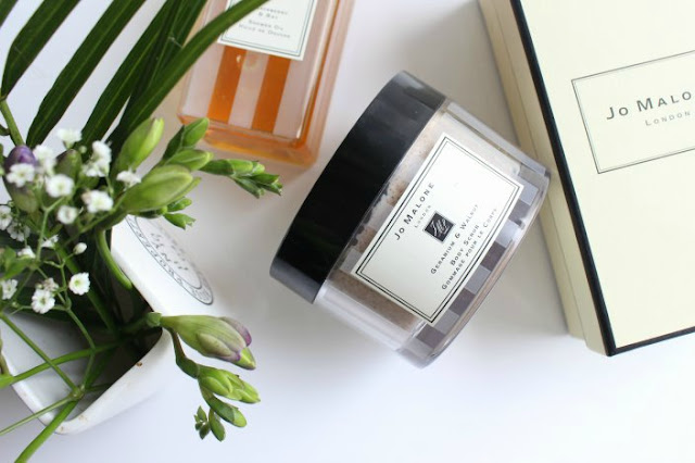 Jo Malone Geranium & Walnut Body Scrub Review