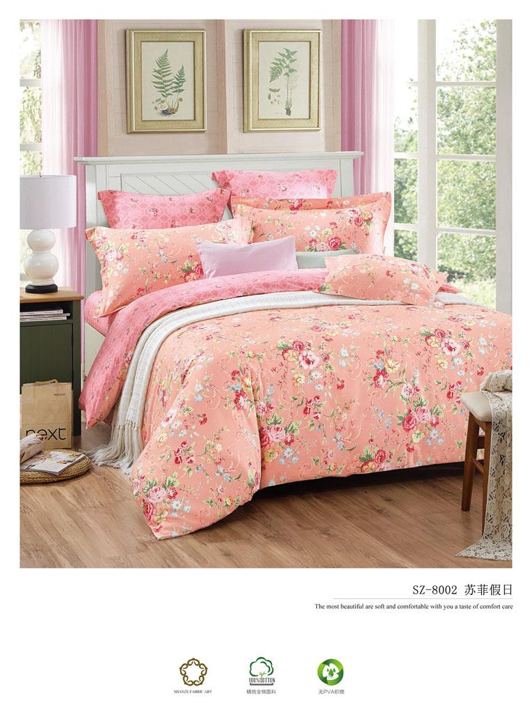 Sprei Jepang Motif Camellia