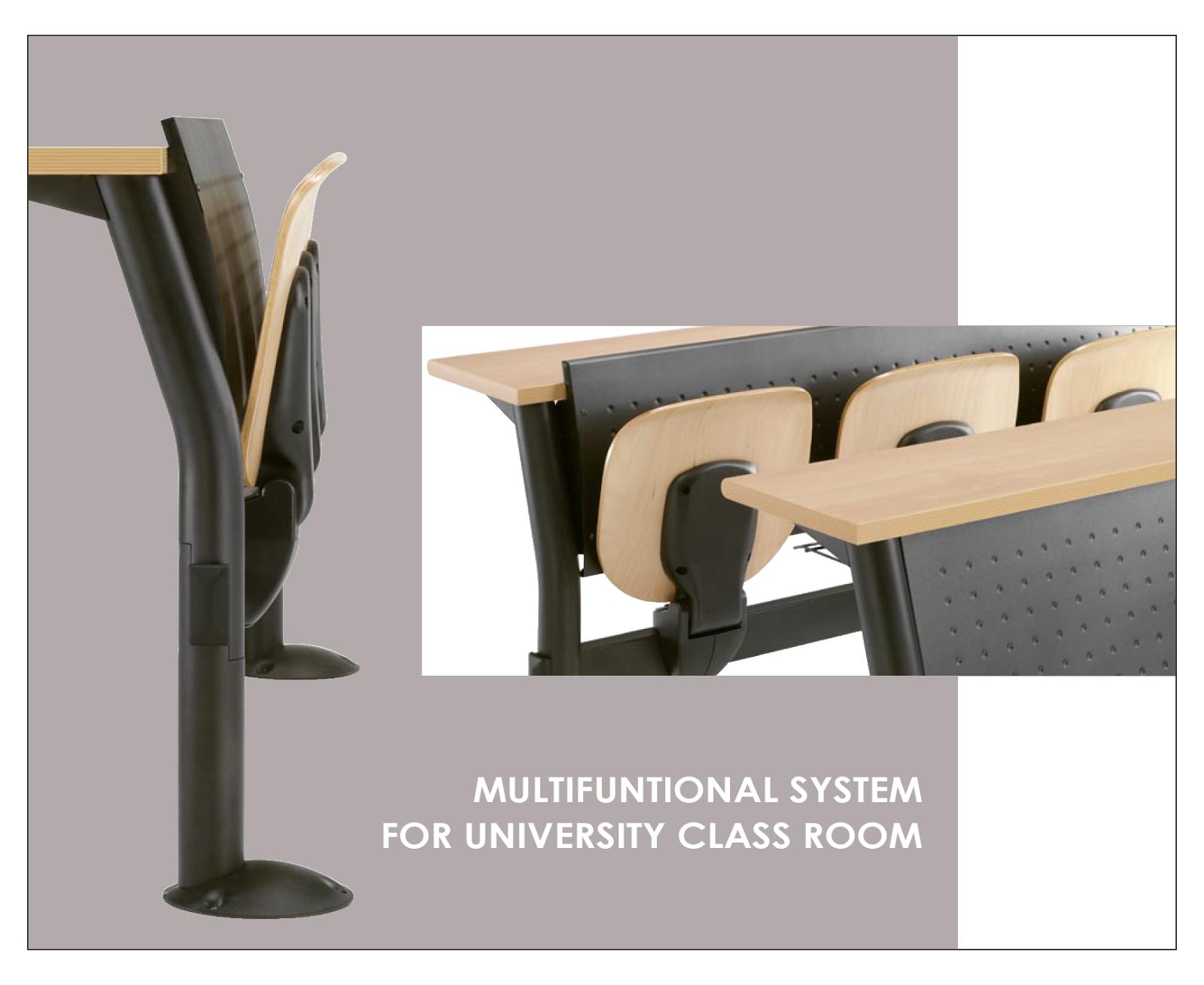 Sketchup free 3d model campus seat system for Arredi sketchup