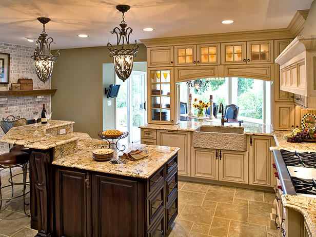 Country Style Kitchen Lighting