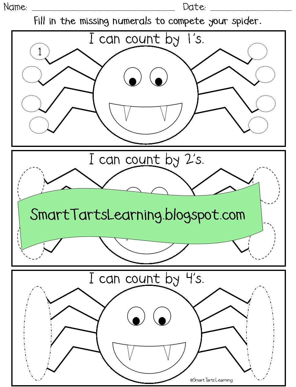 SmartTartsLearning: They Creep, They Crawl, They\'re Spiders!