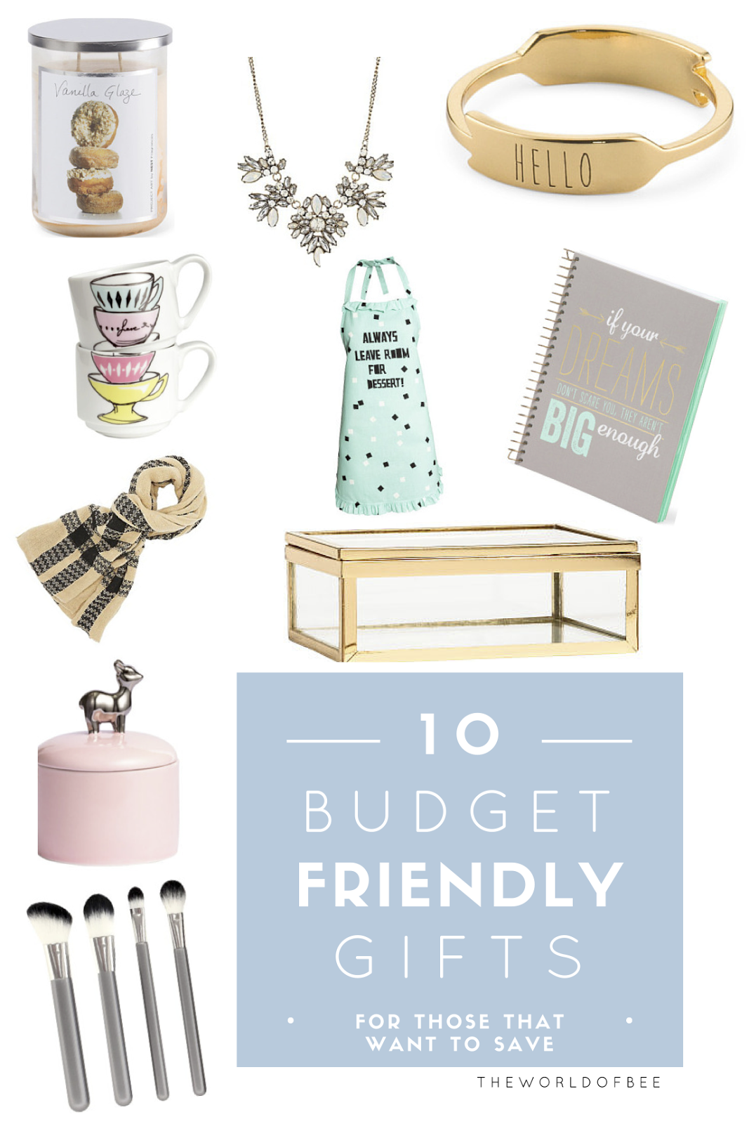 10 Budget Friendly Gifts