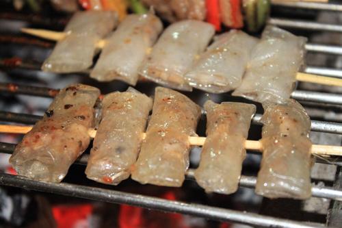 lụi nướng - món ăn ngon Gia Lai