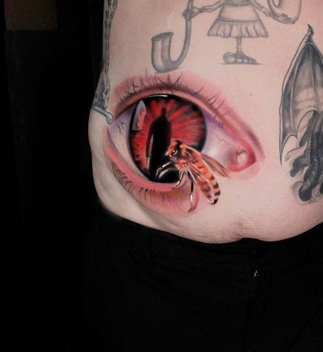 Amazing 3D Tattoos Ideas...