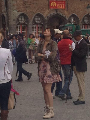 Anushka Sharma and Sushant Singh shoot for Peekay in Bruges