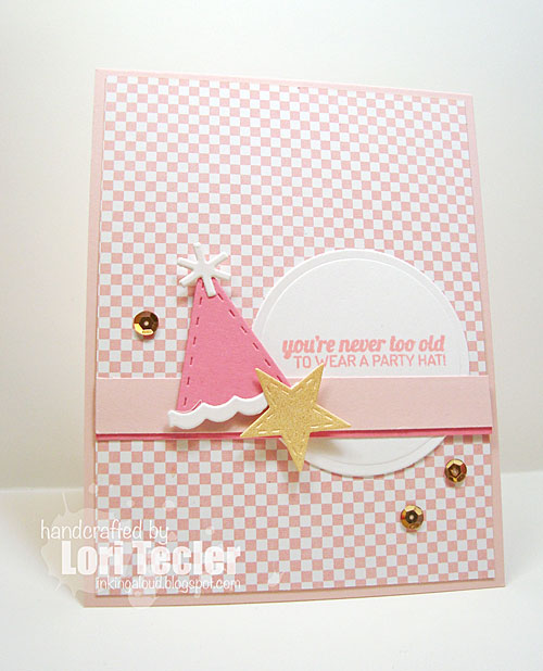 You're Never Too Old card-designed by Lori Tecler/Inking Aloud-stamps from Lil' Inker Designs