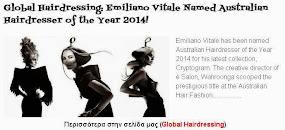 Emiliano Vitale Named Australian Hairdresser of the Year 2014!