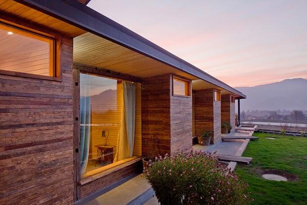 Casa Corcolenda diseñada por los arquitectos Manuel Dorr y Pablo Schmidt 2