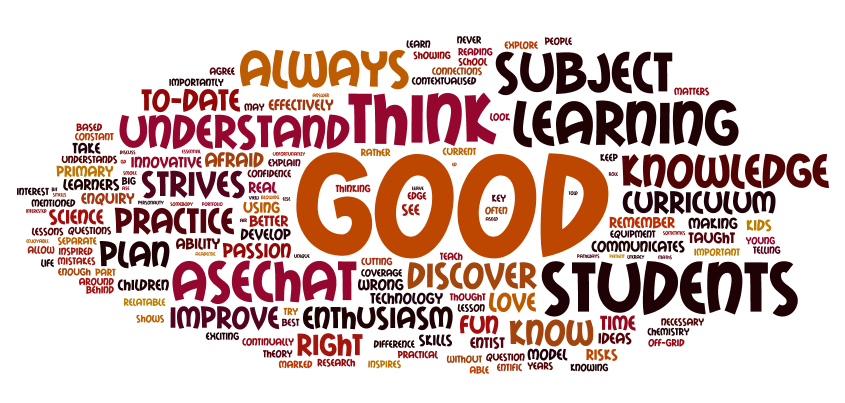 Teaching Science: what makes a good science teacher?