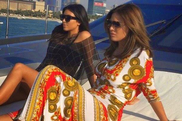 موسم الهجرة إلى دبي! كيم كارداشيان أيضاً في تستمتع في دبي