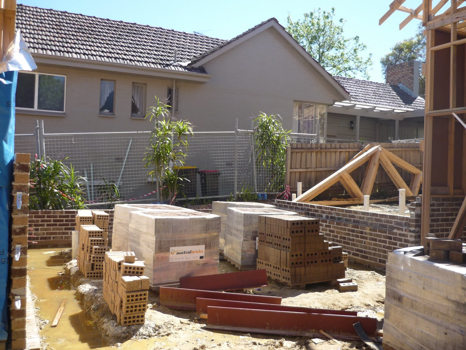 Building a house from scratch fence issue resolved for Cost to build a house from scratch