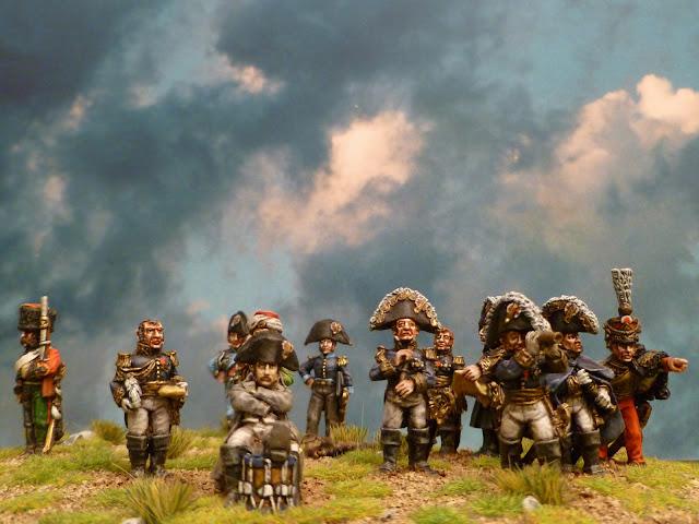 Napoléon et son Etat- Major - Figurines Wargames Foundry 4