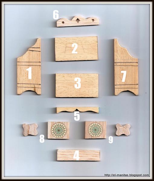El mundo de las manualidades y la artesan a tutorial paso for Manual para armar un mueble