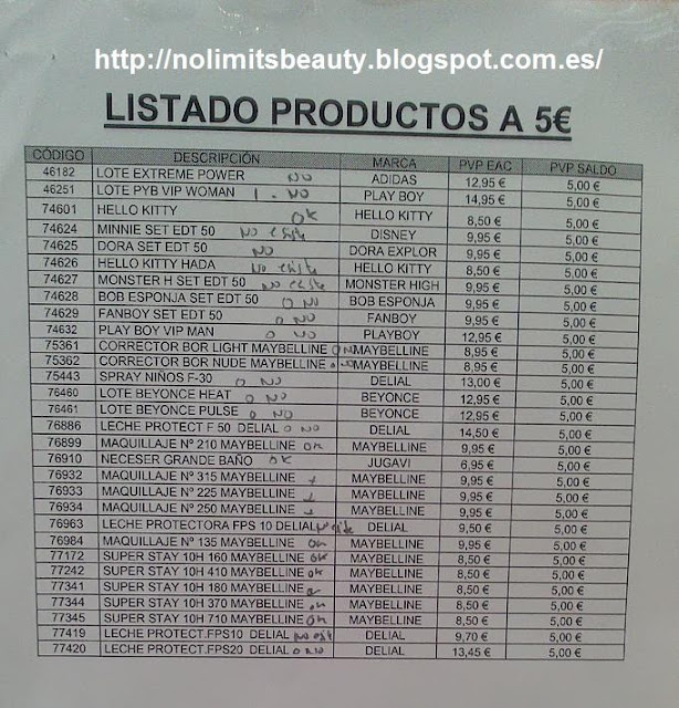 Compras Mercadona Junio 2013
