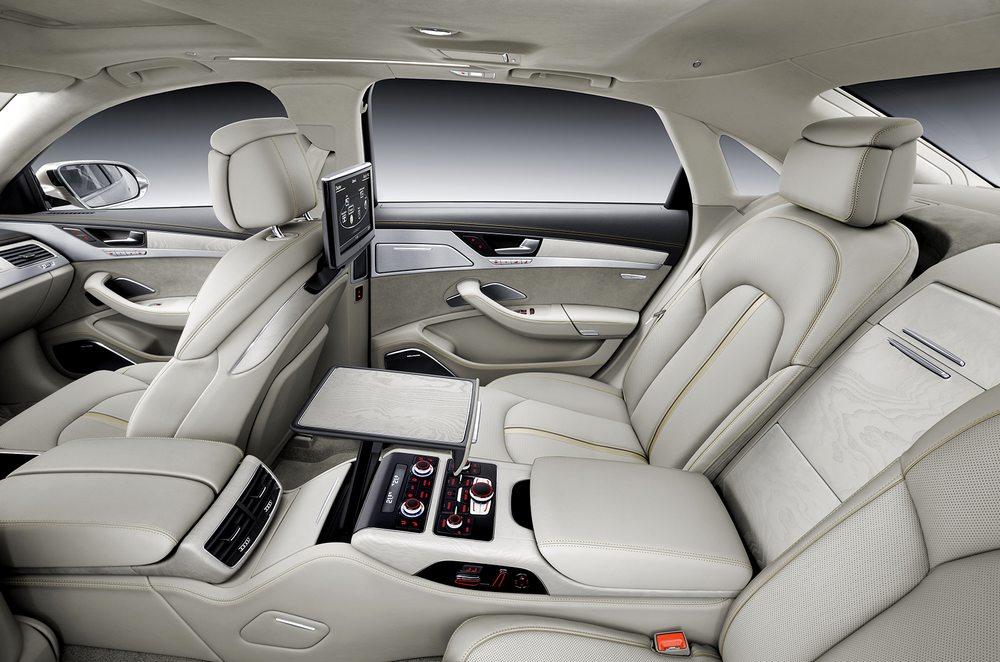 novo Audi A8 2014 interior bancos