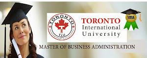 ماجستير إدارة الاعمال المهنى المعتمد من جامعة تورونتو الكندية ( احصل على درجة الماجستير فى إدارة ال