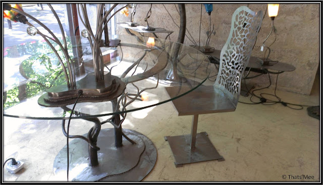 Mobilier Pieropan Olivier  ferronnerie d'art orfer Paris