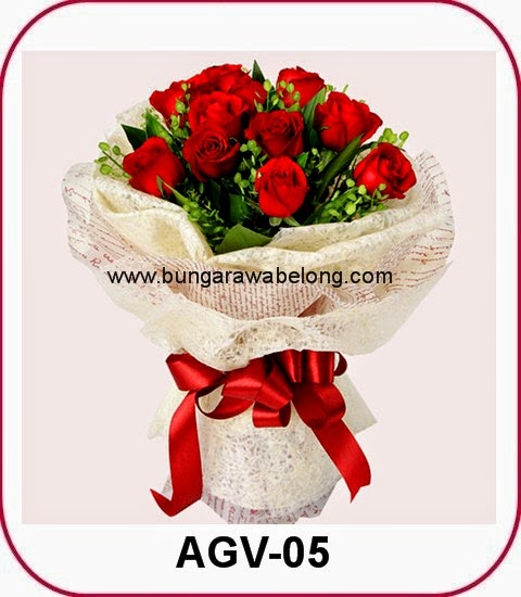 Hand Bouquet Mawar Untuk Pacar
