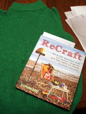 ReCraft Book with Green Sweater
