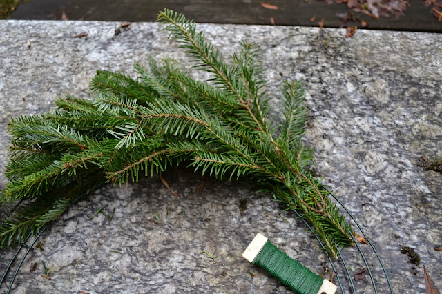homemade wreath, http://growingdays.blogspot.com