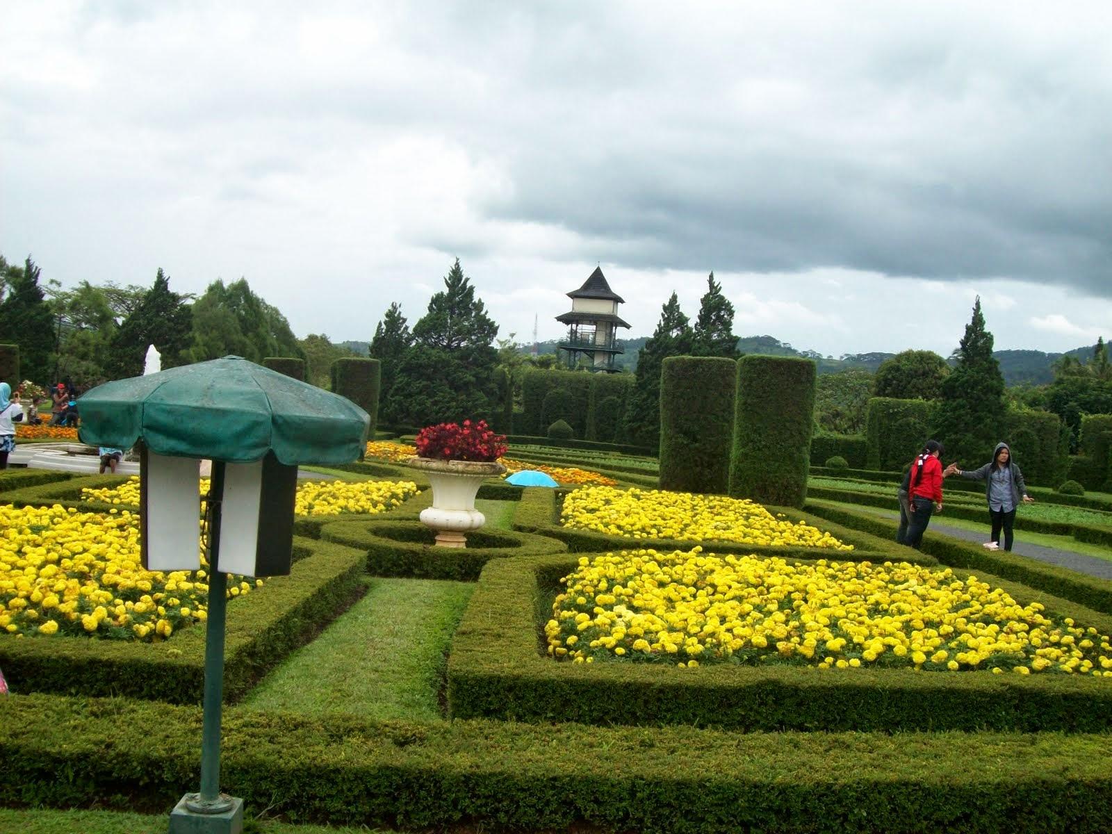 Taman Berlibur Taman Bunga Pilihan Wisata Kota Cibubur