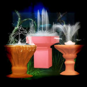 "Free scrapbook ""Fountains"" by Mgtcs Digital Art"