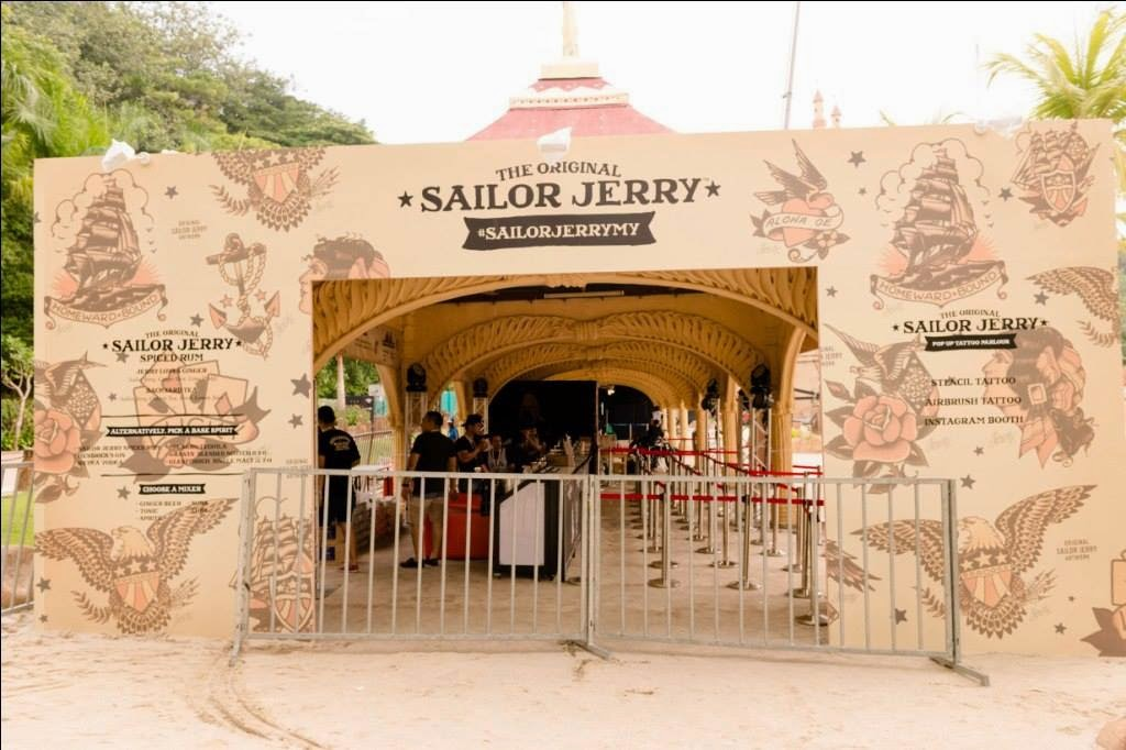 Sailor Jerry Exclusive Tent at MTV World Stage 2014