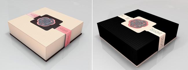 the marmara chocolate on packaging of the world creative