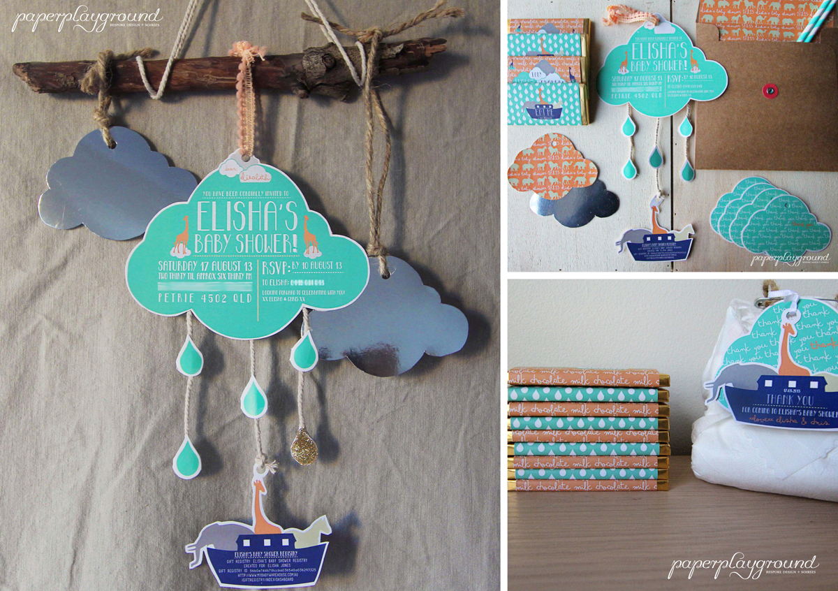company the blog noah 39 s ark themed baby shower by paperplayground