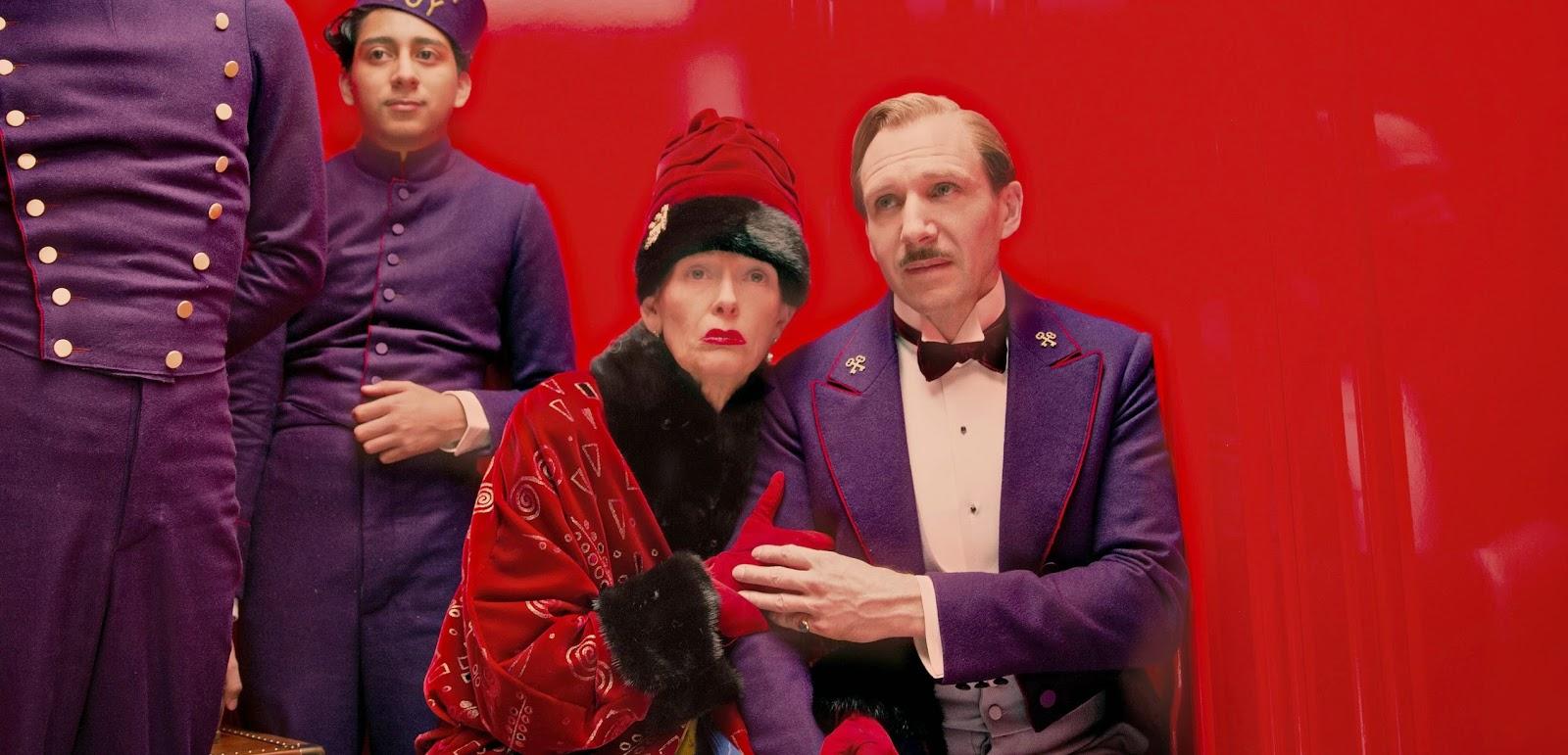 """Campeão de indicações ao Oscar, """"O Grande Hotel Budapeste"""" retorna aos cinemas"""