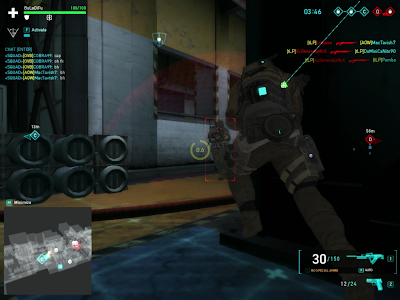 Ghost Recon Online - Enemy Using AEGIS