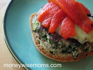 Turkey Spinach Burgers #recipe | MoneywiseMoms