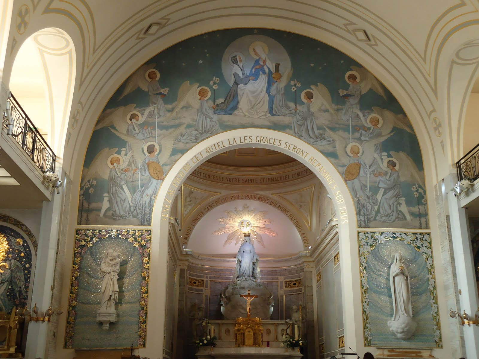 V n rable henri marie boudon archidiacre du dioc se d for Dame blanche miroir minuit