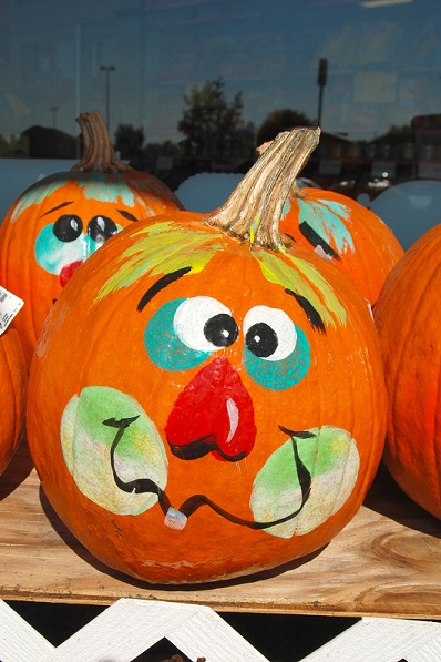 Funny Pumpkin Painted Design Ideas Crafts And Arts Ideas