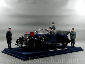 Xe mô hình tĩnh Mercedes-Benz 770K Cabriolet 1938 hiệu Signature tỉ lệ 1:18