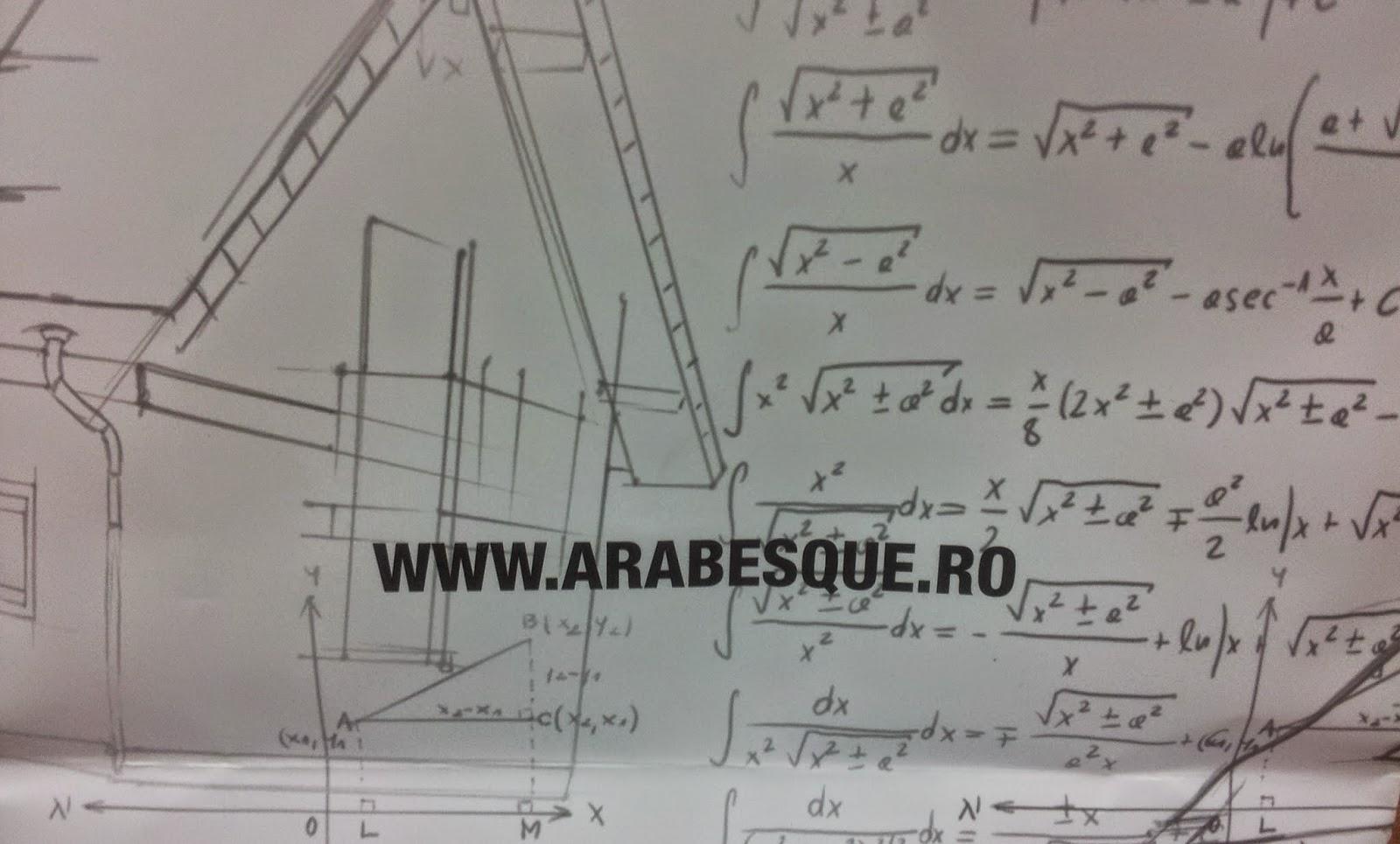 Arabesque - cand construiesc